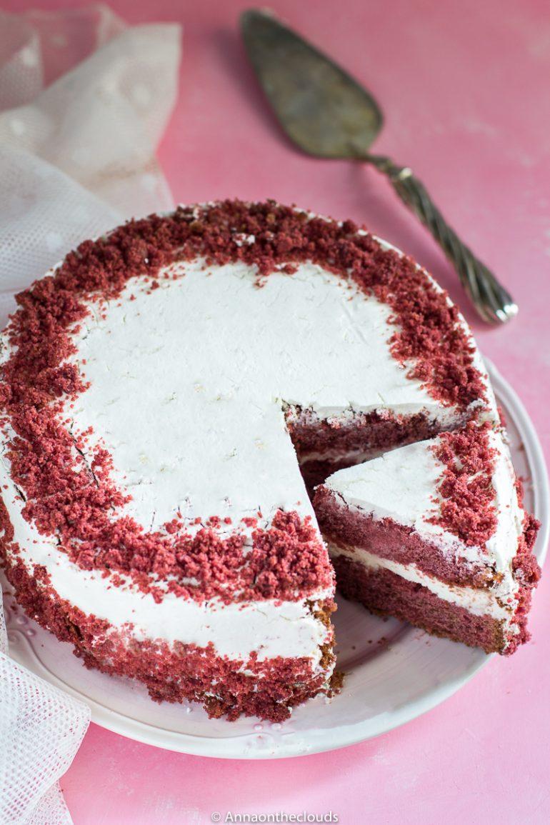 Ricetta Americana Red Velvet.Red Velvet Cake Ricetta Perfetta Originale Anna On The Clouds