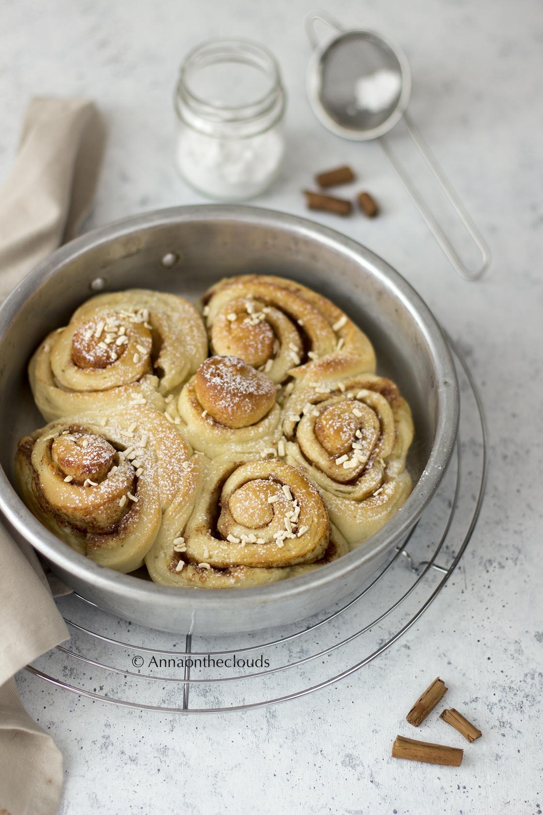 Ricetta perfetta cinnamon rolls