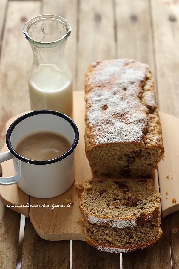 Banana bread e nocciole [ senza burro – zucchero – latte ]
