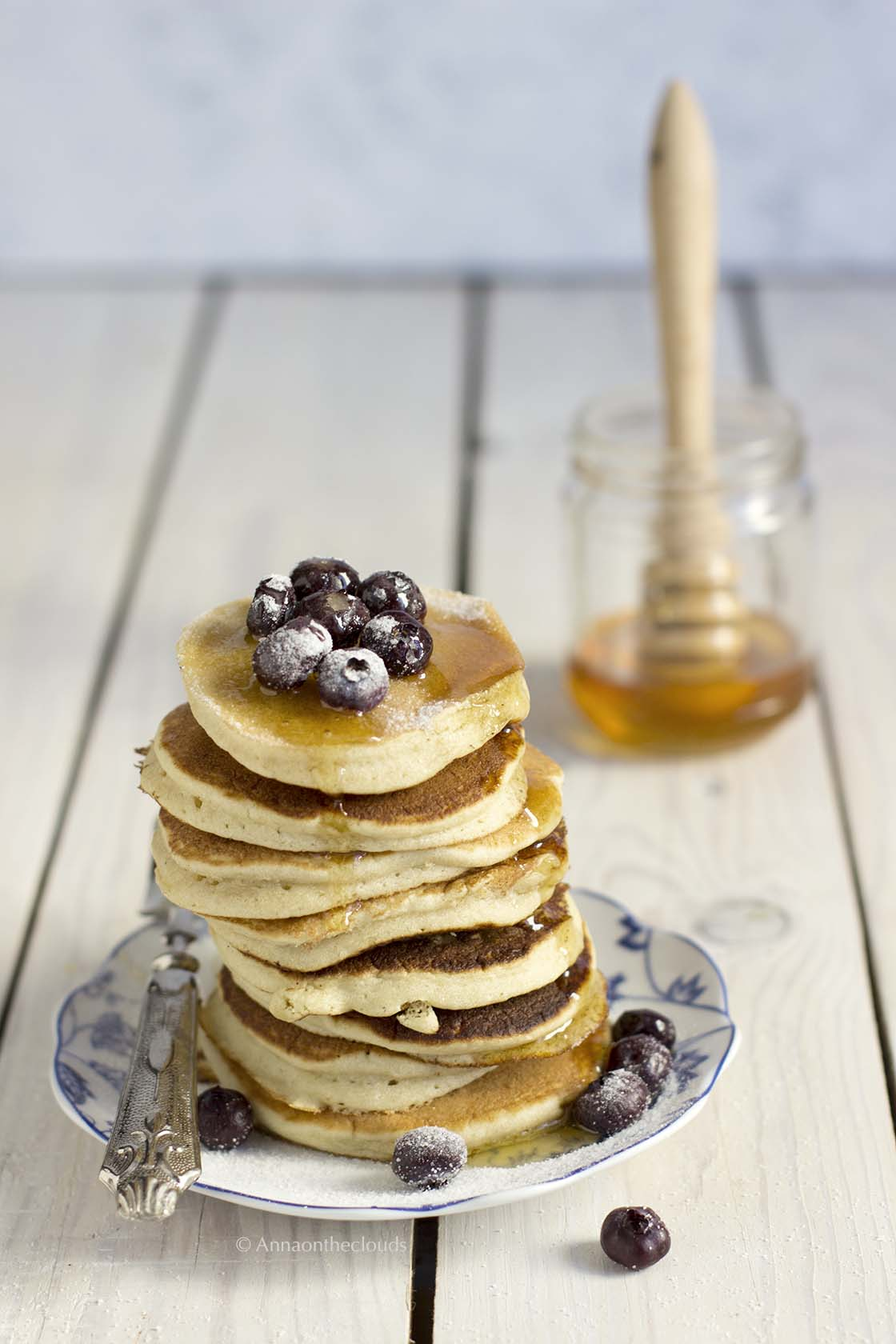 Ricetta Pancake Soffici All Americana Anna On The Clouds