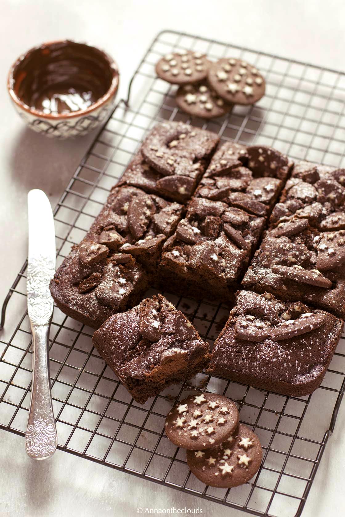 Ricetta brownies di pan di stelle