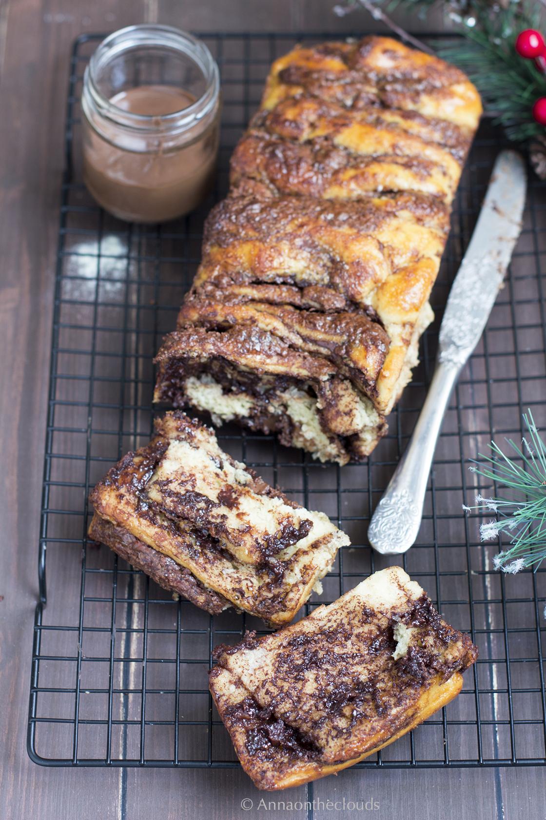 Ricetta Pane dolce alla nutella (Nutella pull apart bread)