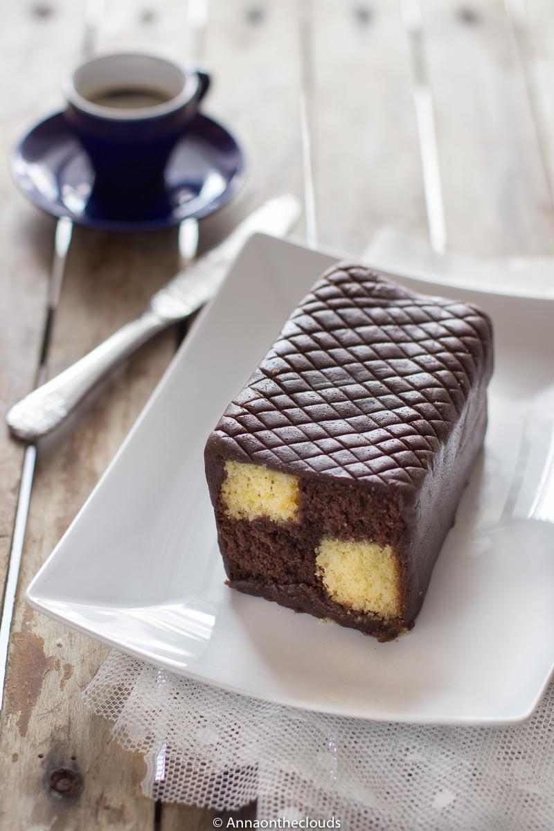 Battenberg cake ricetta (torta a scacchi)