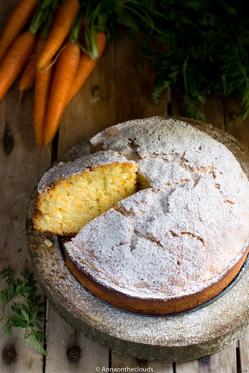 Torta di carote SOFFICE e SENZA BURRO