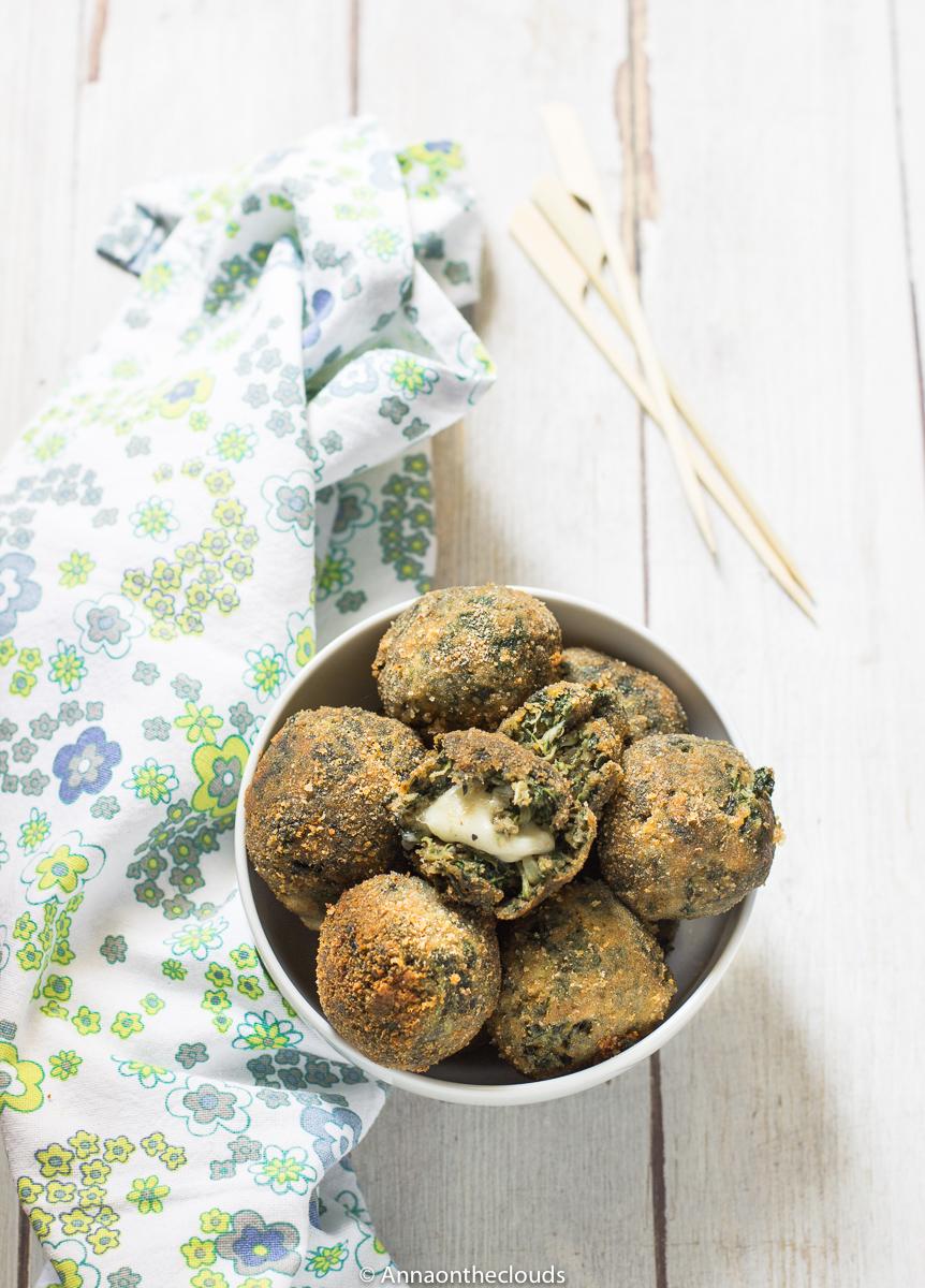 Polpette di bietola con cuore filante ( ricetta vegetariana )