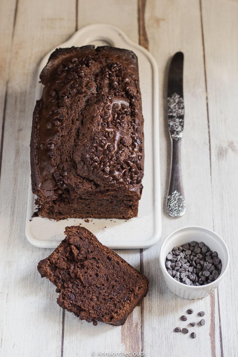 Plumcake al mascarpone e cioccolato