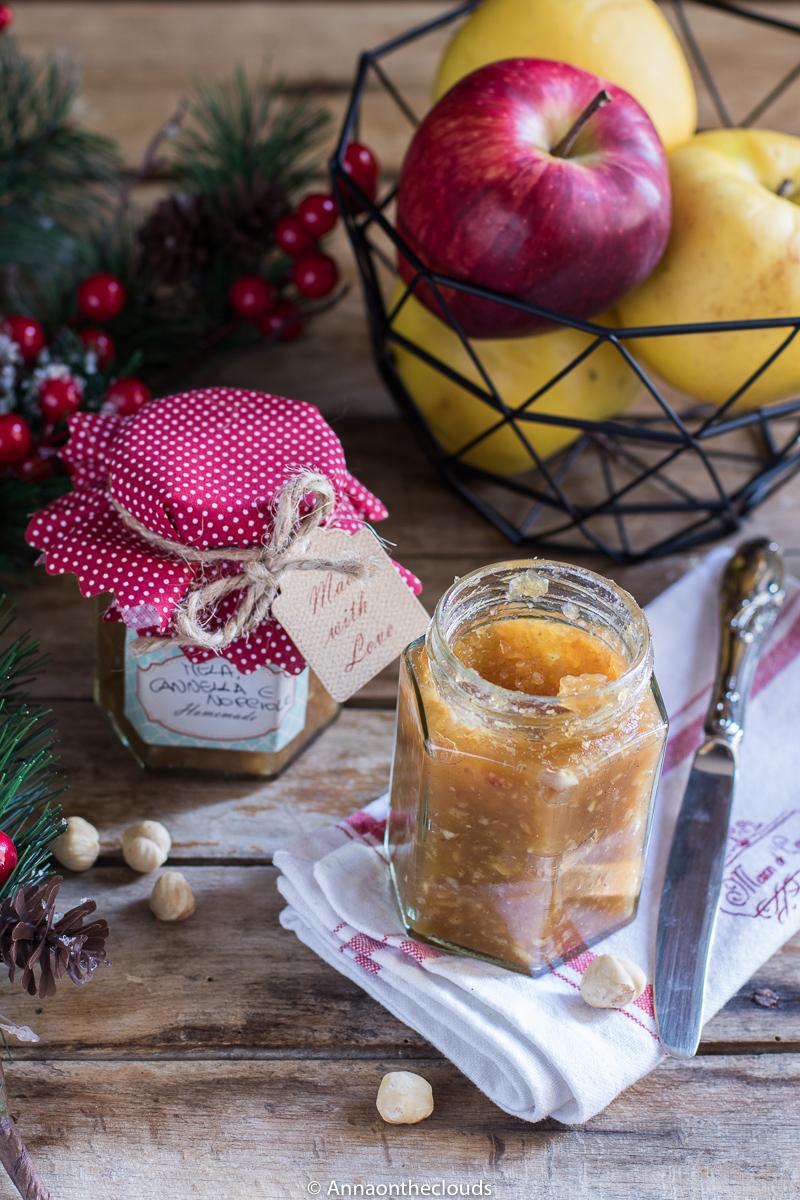 Confettura di mele, nocciole e cannella RICETTA FACILE