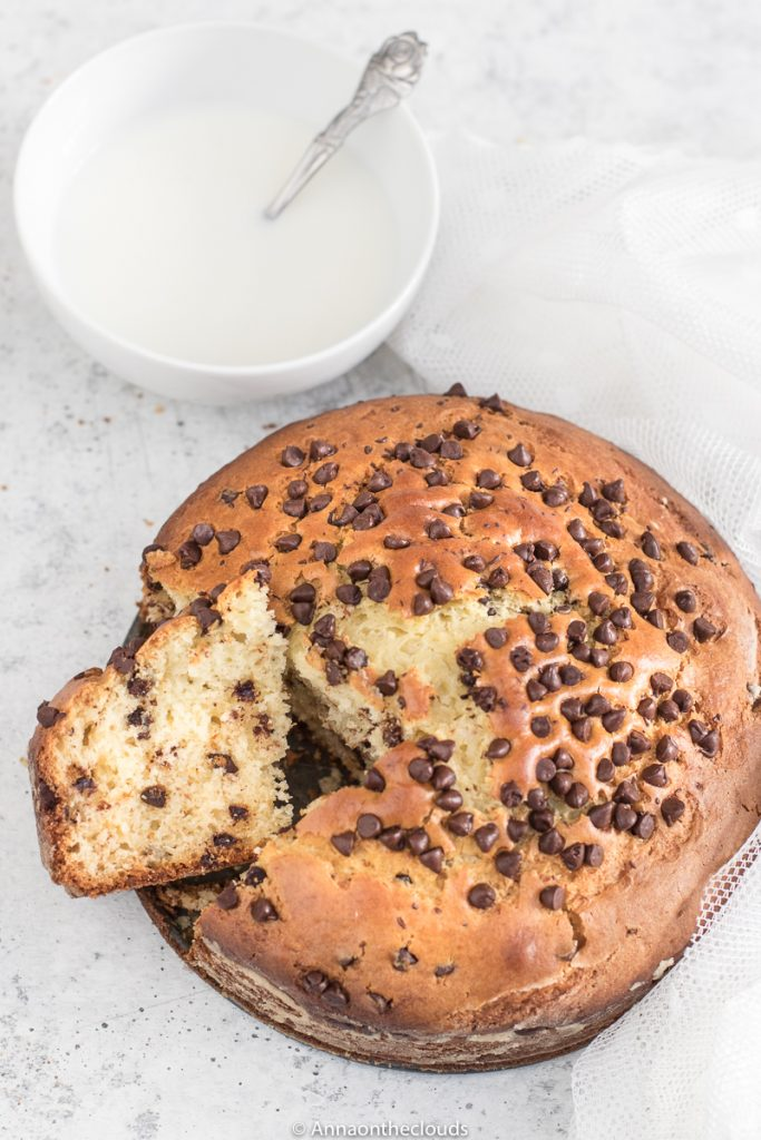 Torta ricotta e cioccolato soffice – senza burro