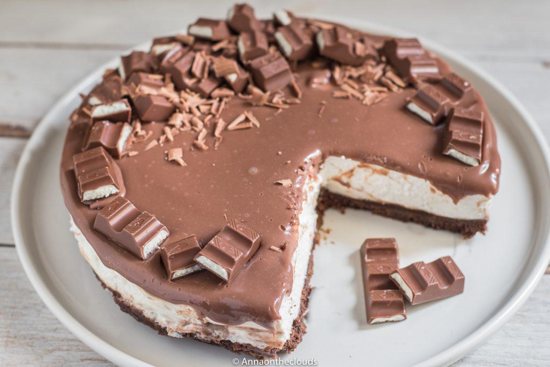 Kinder cheesecake - senza cottura