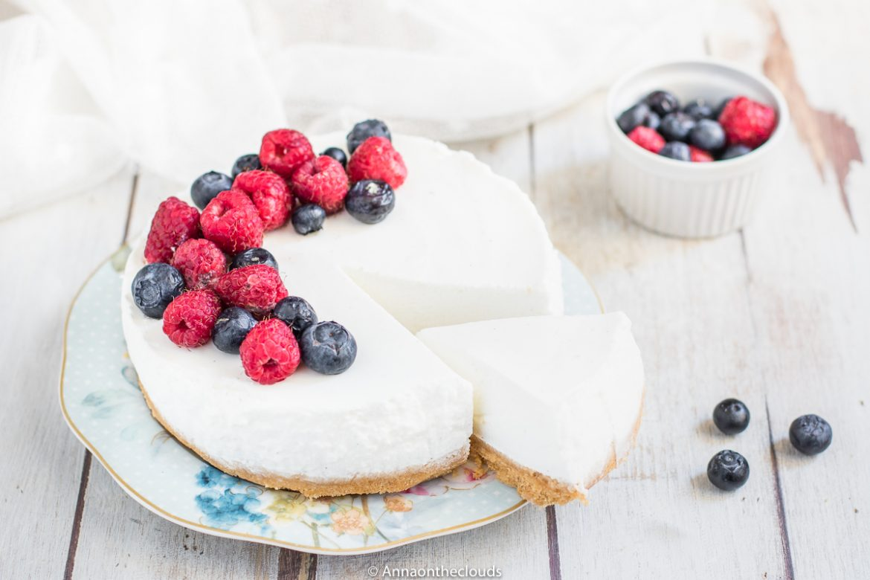 Torta fredda allo yogurt - senza cottura