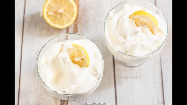 Crema di limone in bottiglia pronta in 5 minuti