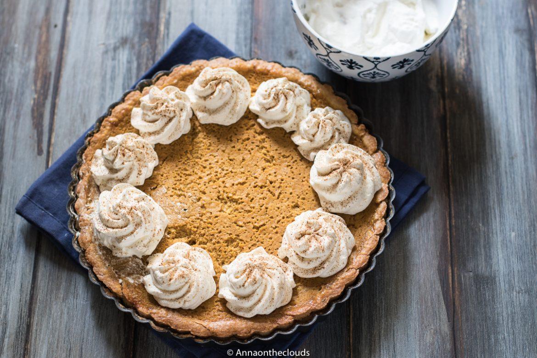 Pumpkin pie: crostata di zucca americana