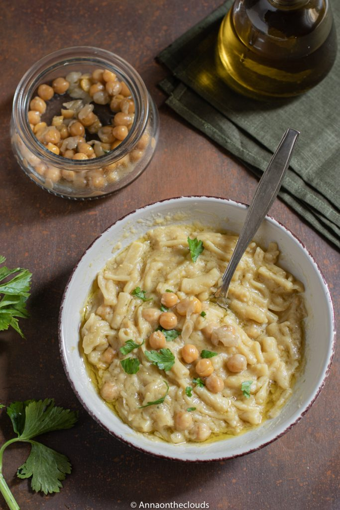 Pasta e ceci cremosa: ricetta napoletana