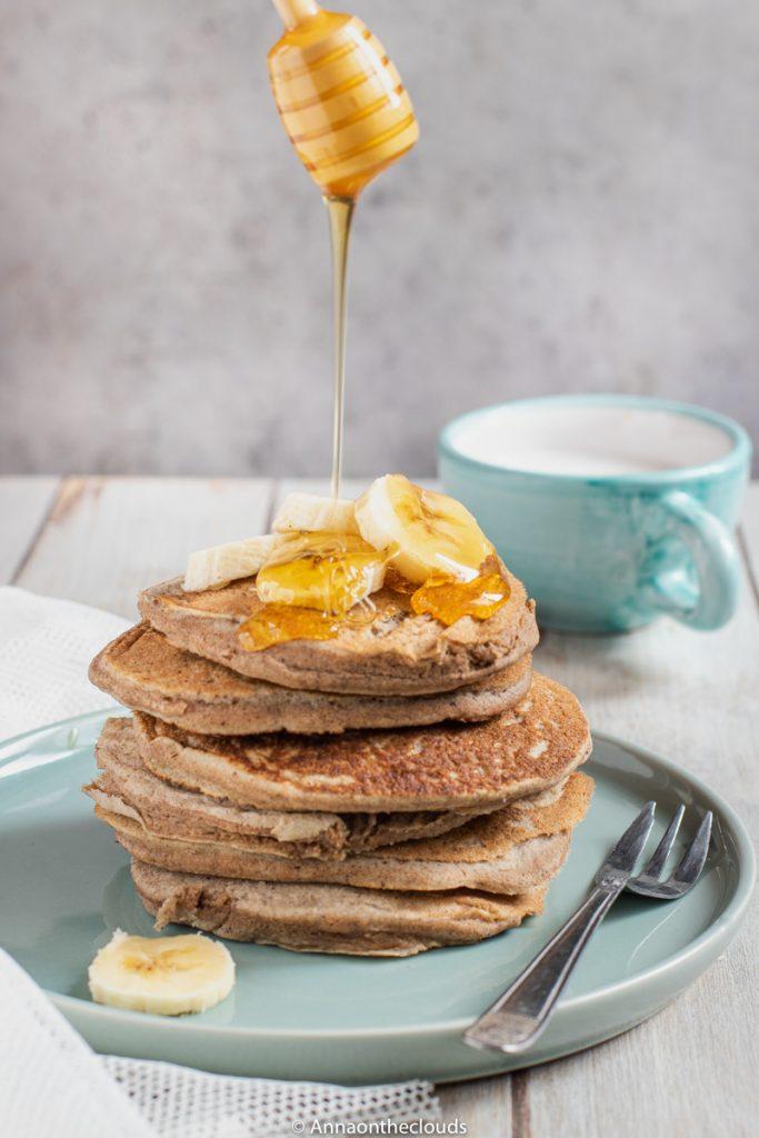 Pancake senza uova (vegan alla banana)