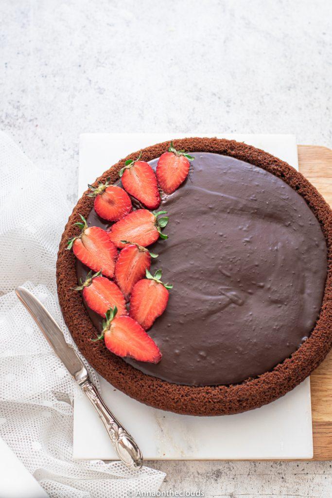 Crostata morbida al cioccolato ricetta