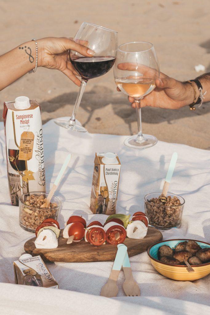 Tre ricette per aperitivo in spiaggia con Sancrispino