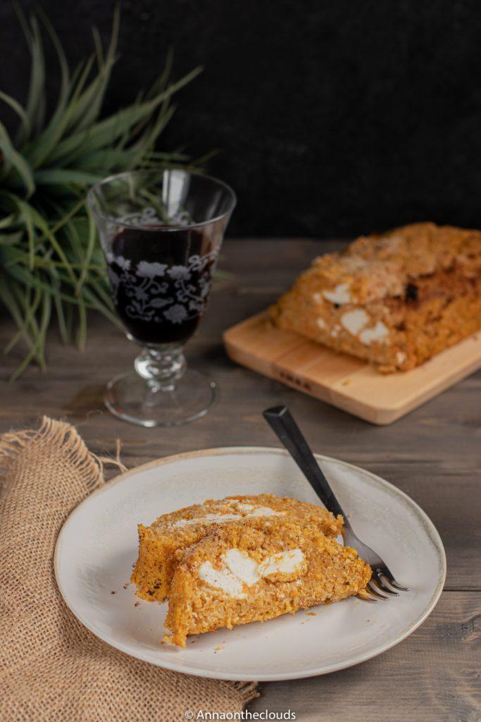 Polpettone di zucca, quinoa e feta: ricetta light