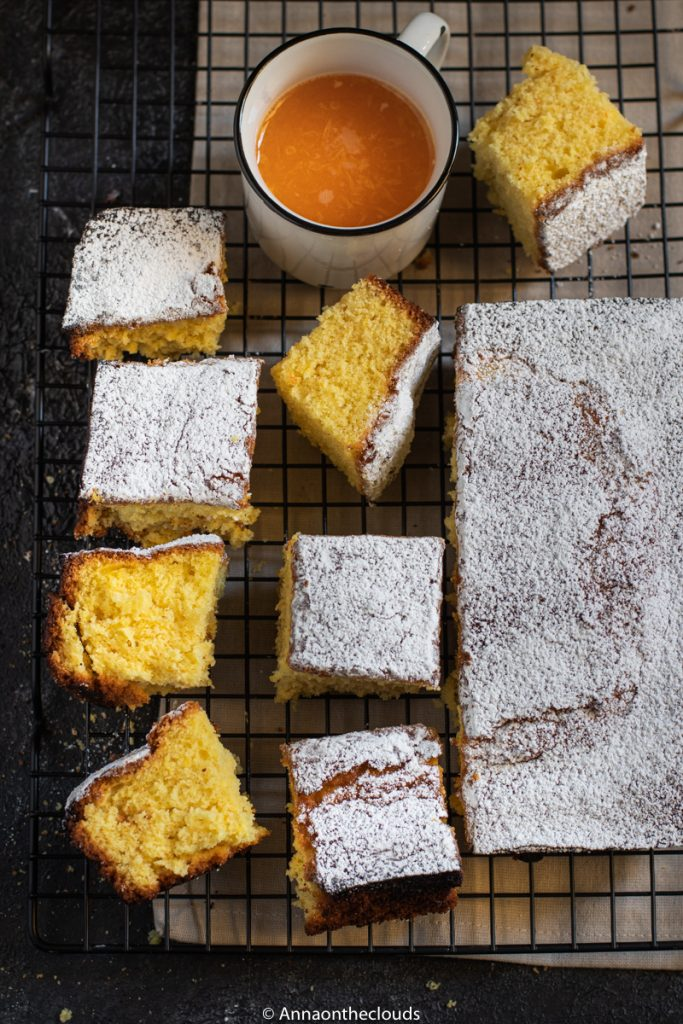 Pan d'arancio: pronto in 5 minuti!