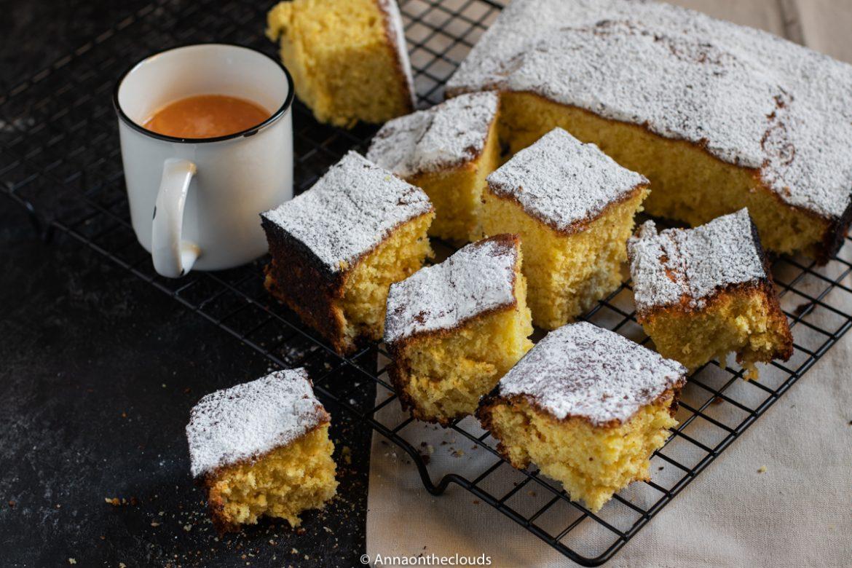 Pan d'arancio: senza latte e senza burro!