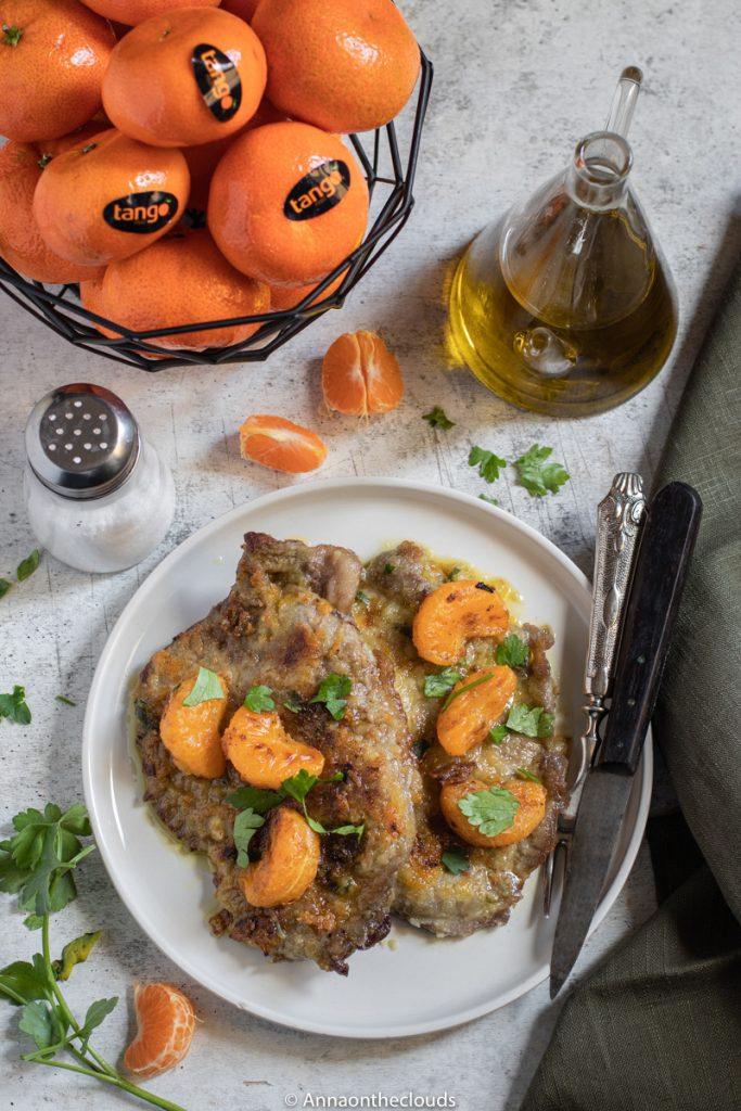 Scaloppine di vitello ai mandarini: ricetta facile!