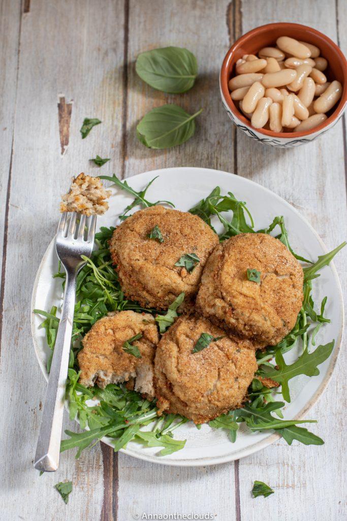 Polpette di fagioli e tonno: ricetta light