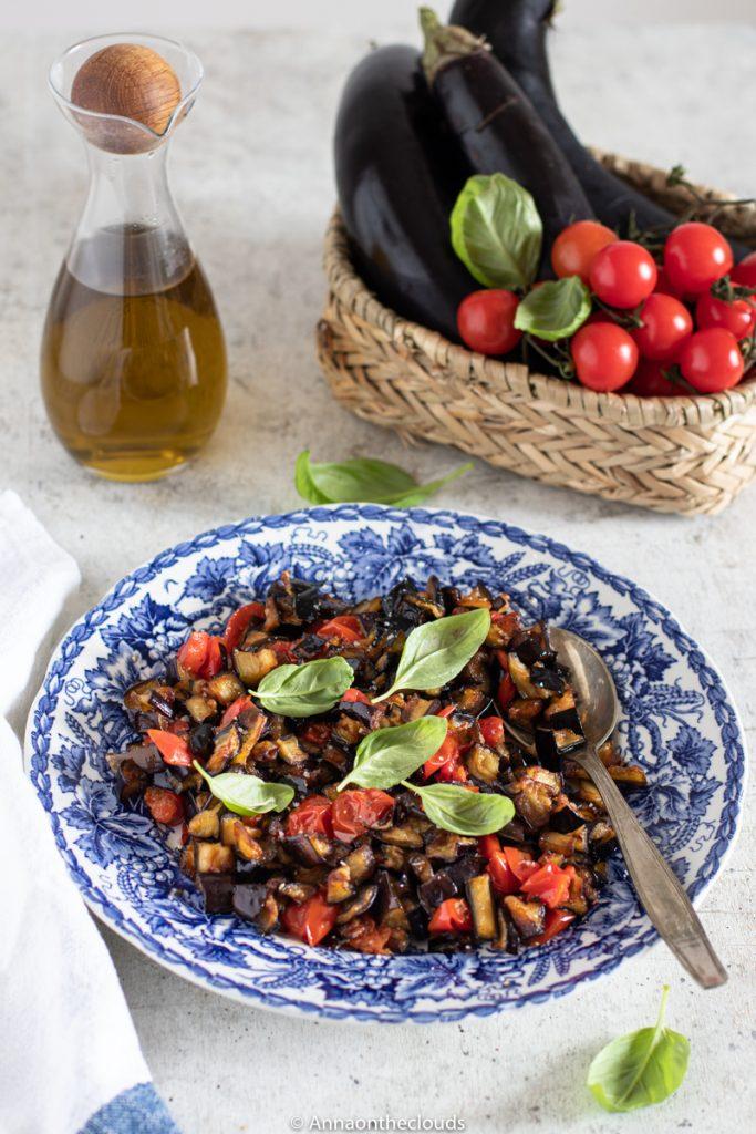 Melanzane a funghetto: ricetta napoletana